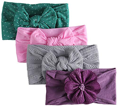 Nylon Baby Headband, Baby Girl Bows, Hair Accessories for Newborn Toddler Girls