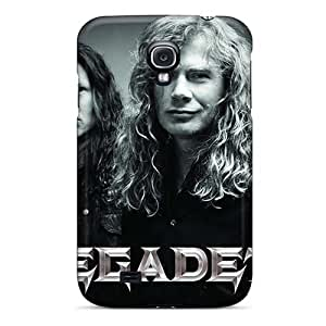 Scratch Resistant Hard Cell-phone Case For Samsung Galaxy S4 With Custom Fashion Metallica Skin ChristopherWalsh
