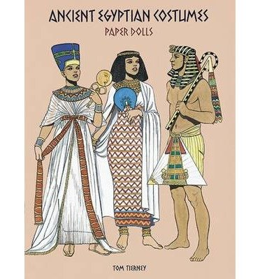 [(Ancient Egyptian Costumes Paper Dolls )] [Author: Tom Tierney] (Ancient Egyptian Costumes Paper Dolls)