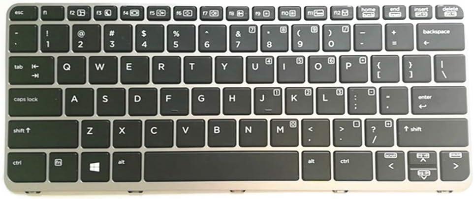FQ Teclado portátil para HP EliteBook Folio 1040 G1 Negro con ...