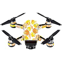 Skin For DJI Spark Mini Drone – Yellow Petals | MightySkins Protective, Durable, and Unique Vinyl Decal wrap cover | Easy To Apply, Remove, and Change Styles | Made in the USA