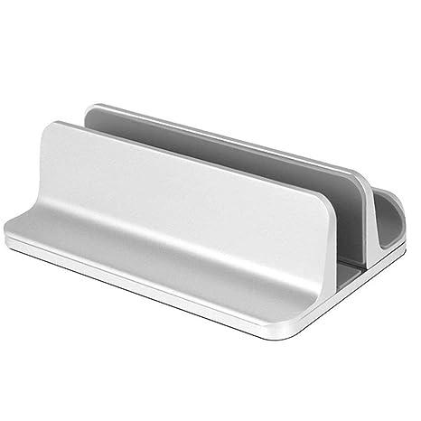 ZLR Soporte vertical ajustable de aluminio para ordenador portátil, soporte de escritorio para todos los