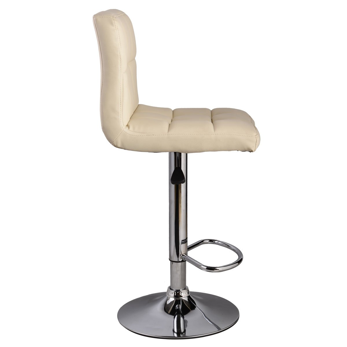 amazoncom set of  bar stool pu leather barstools chair adjustablecounter swivel pub kitchen  dining. amazoncom set of  bar stool pu leather barstools chair