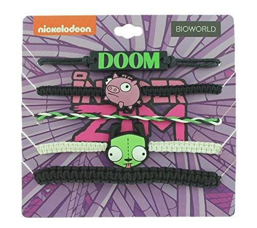 Invader Zim Doom Gir et Piggy Bras de fête Lot de 5ensemble Bracelet