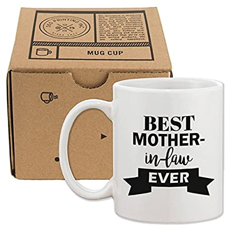 Christmas Gifts For Mother In Law.Amazon Com Best Mother In Law Ever Mug Cup Mothers Day Or