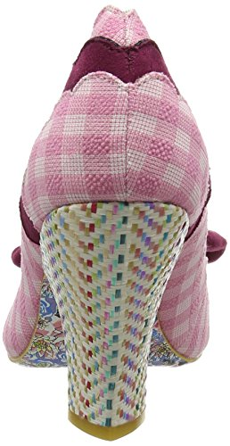 Kvinde Pink Irregular Choice Call lyserød Curtain Hæle nqzBIq