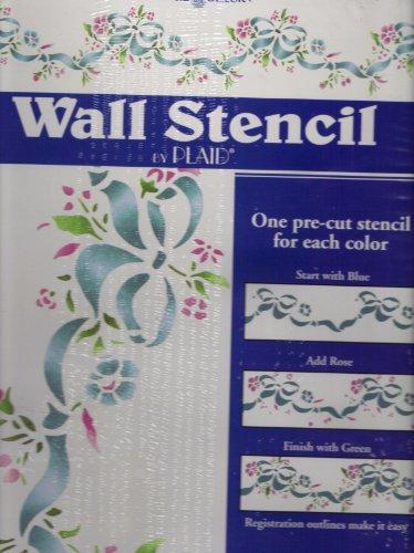 Springtime Romance Wall Stencil By Plaid