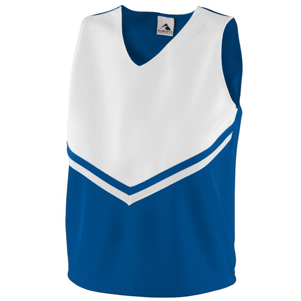 Augusta Women's Sleeveless V Neck Pride Shell - Royal/White 9110A M Augusta Sportswear