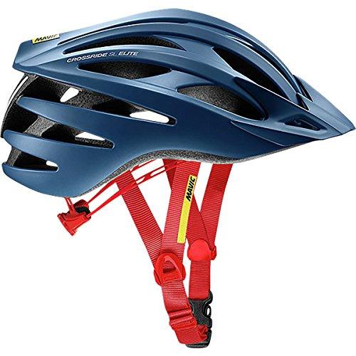 Mavic Crossride SL Elite Helmet True Blue/Fiery Red, M For Sale