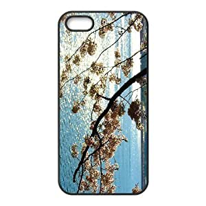 Diy Colorful Cherry Blossom Phone Case For Ipod Touch 5 Cover Black Shell Phone JFLIFE(TM) [Pattern-4]