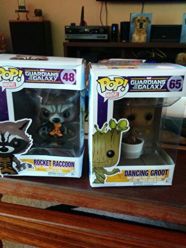 Guardians of the Galaxy Rocket Raccoon(#48) and Dancing Baby Groot(#65) POP figure set