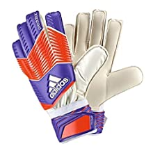 adidas Performance Predator Replique Goalie Gloves,Night Flash Purple/Solar Red/White, Size 9
