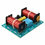 Superele WEAH-307 Treble Bass 3 Way Frequency Divider Speaker Audio Crossover Filters Board DIY Double Inductors Durable 85.5 X 63mm Filter Module