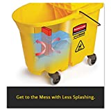 Rubbermaid Commercial WaveBrake Mop Bucket and Side