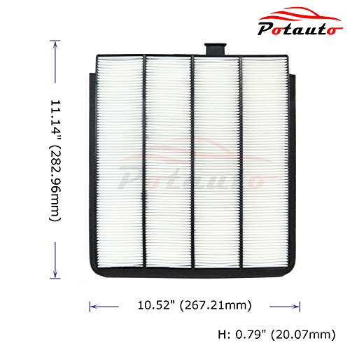 Cabin Air Filter Cost >> Potauto Map 1032w Cabin Air Filter Replacement Compatible With Acura