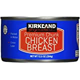 6 - 12.5oz Cans Premium Chunk Chicken Breast Packed in Water Kirkland