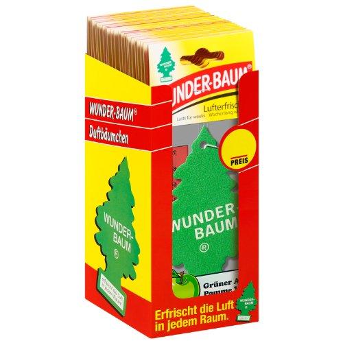 Wunder-Baum 134207/24 luchtverfrisser 24-delig box groen appel