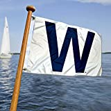 Chicago Cubs W Win Boat and Golf Cart Flag Review