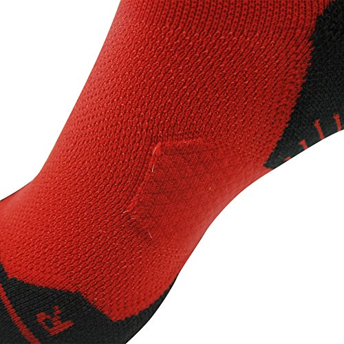 Tennis Compression Socks HUSO Elite Reinforce Support Athletic Ankle Hiking Football Socks for Men 2 Pairs by Huso (Image #7)