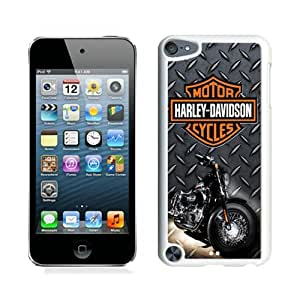 Hot Sell Design Harley Davidson (2) White iPod Touch 5 Protective Phone Case