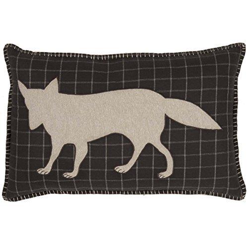 VHC Brands Rustic & Lodge Pillows & Throws - Wyatt Brown Applique Fox 14