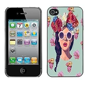 Dragon Case - FOR iPhone 4 / 4S - look at me - Caja protectora de pl??stico duro de la cubierta Dise?¡Ào Slim Fit