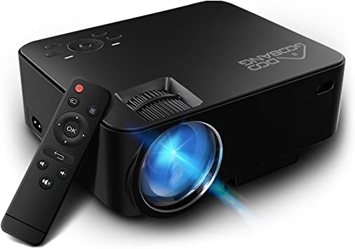 Videoproyector 2200 Lumens, ABOX T22 LED Mini video proyector ...