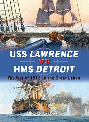USS Lawrence vs HMS Detroit: The War of 1812 on the Great Lakes (Duel)