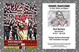 ACEO Sports Nick Mullens 2018 Art Style Football