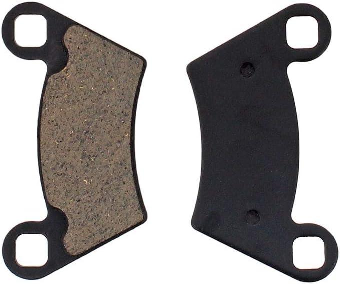 NICHE Front Rear Brake Pad Set for Polaris Ranger 500 570 800 2202413 2202097 1910514 1910672 Organic