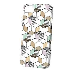 Case Fun Apple iPhone 5C Case - Vogue Version - 3D Full Wrap - Dot Dash Cubes by Finch Five