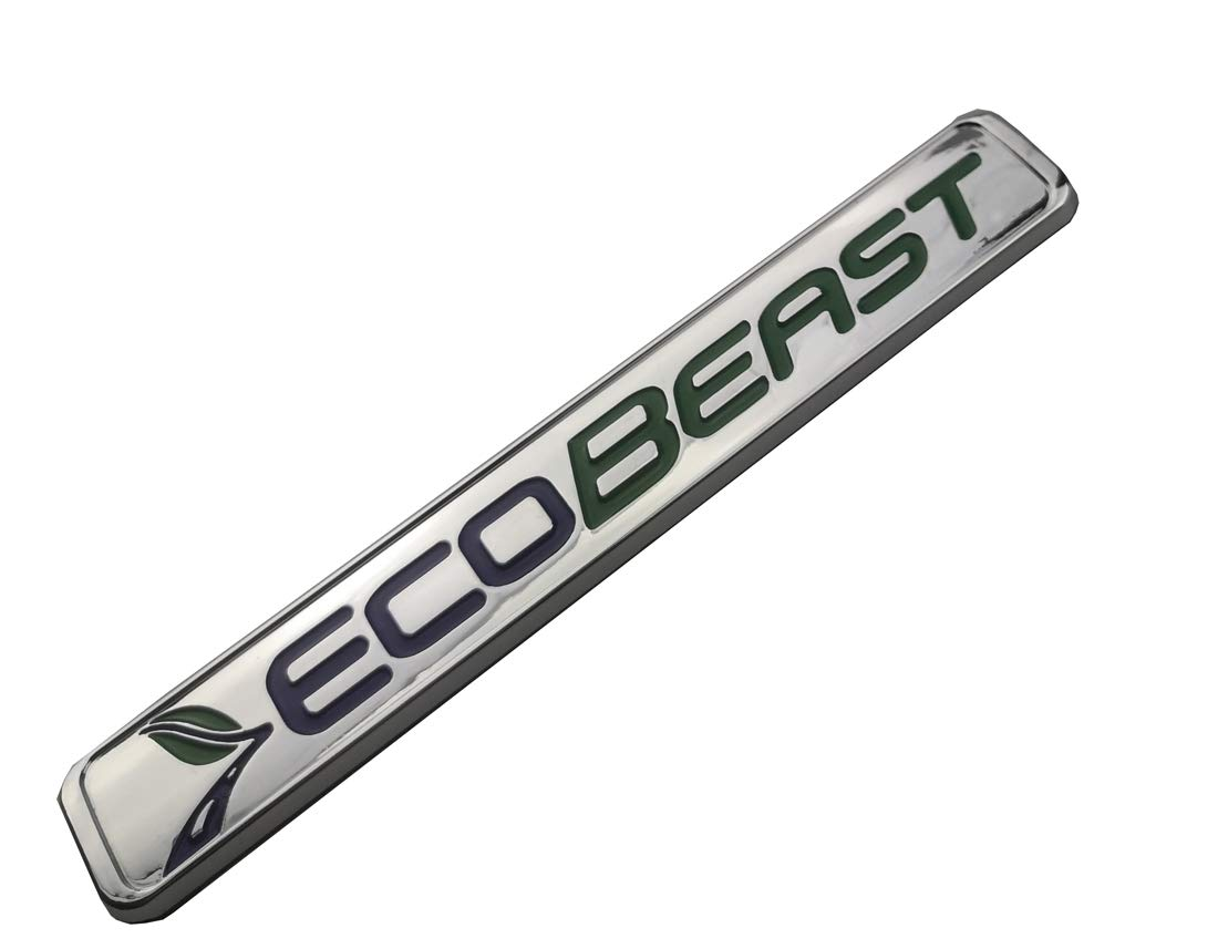 ECOBEAST Badge Emblems 3D Sticker Nameplate Door Fender Tailgate Stickers Replacement for 2011 2012 2013 2014 2015 2016 2017 2018 2019 F-150 Matte Black