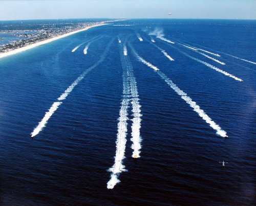 Offshore Powerboat Race, Point Pleasant to Seaside Heights, New Jersey