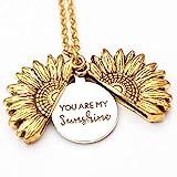 RMOJUL You are My Sunshine Necklace - Unique