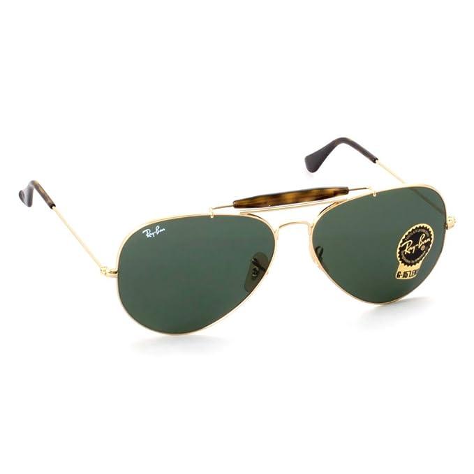 Ray-Ban - Gafas de sol - para hombre verde verde: Amazon.es ...