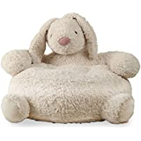 tag - Bunny Plush Chair, Perfectly Designed for Your Childs Room or Nursery, Ivory