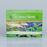 Neem Oil Blemish Buster Bar Soap w/ Karanja Oil for Acne Pimples & Problem Skin - 5 Oz