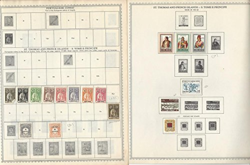 Portugal Colonies Collection on 10 Minkus Global Pages