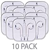 Walmart Black Friday 2016 Electronics Best Deals - (10-Pack) Stereo Earbuds w/Inline Volume Control (White) consumer electronics Electronics