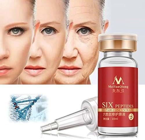 Fabal 10ml Six Peptide Face Liquid Anti Wrinkle Collagen Repair Face Cream Liquid (Red)