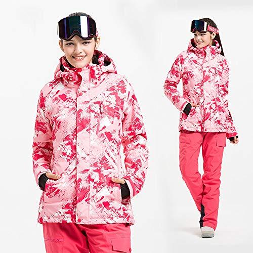 Conjunto Traje De Nieve C5 color Hombres Parejas Mujer Tamaño C8 Esquí Exterior S Para aZan6r
