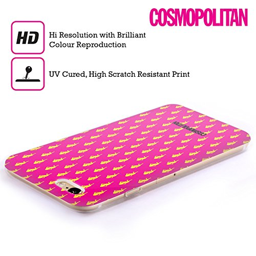 Official Cosmopolitan Hot Pink Fun Fearless Female Soft Gel Case for Apple iPhone 4 / 4S