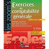 Exercices de comptabilité générale : Principes généraux, opérations courantes, opérations de fin d'exercice