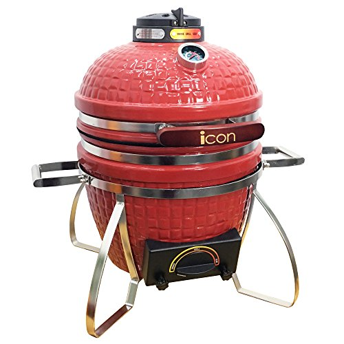 Icon Grills CG101 Table Top Charcoal Kamado Grill