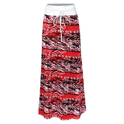 Maxi Womens Tone Printed Skirt Multi Damask 51 Aisa Two Multicolored YZwqFq