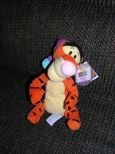 Winnie the Pooh Disney Wake Up Tigger in Nightcap Plush 7 Bean Bag by Star Bean from