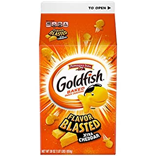 Pepperidge Farm, Goldfish, Crackers, Xtra Cheddar, 30 oz, Carton