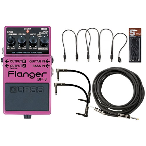 BOSS BF 3 Flanger Guitar Cables