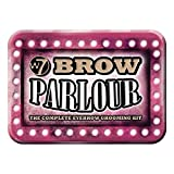 W7 Brow Parlour The Complete Eyebrow Grooming Kit with free brush and tweezer