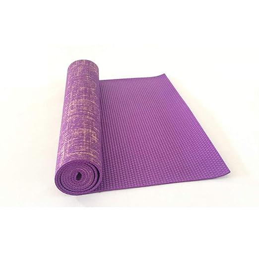 MFHSB - Esterilla de Yoga de PVC, Esterilla Antideslizante ...